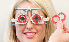 Eye test NHS and private at Chelmsford Opticians in Chelmer Village Essex